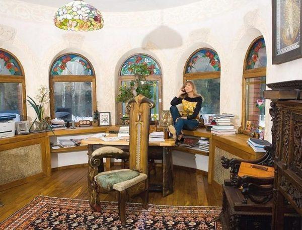 Неповторимый стиль и оформление дома Виктории Цыгановой