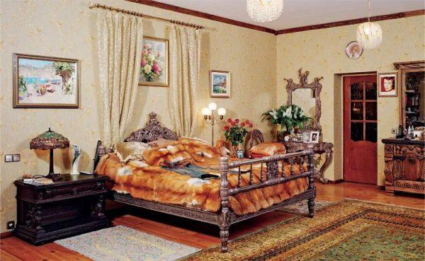 Спальня Вики Цыгановой