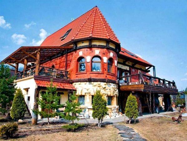Дизайн дома Вики Цыгановой снаружи