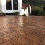 Декоративный штампованный бетон