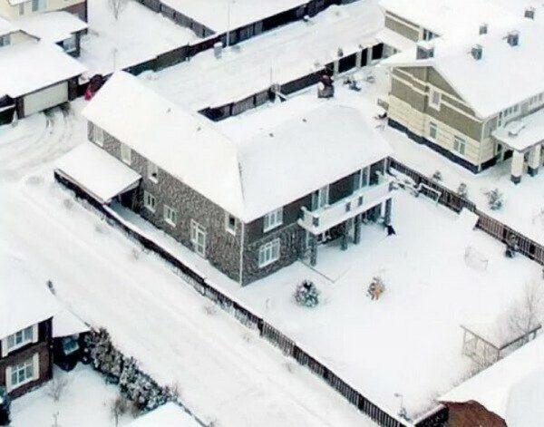 Дом Елены Летучей на Новорижском шоссе