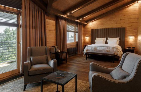 Спальня в доме Тинькова Хонка