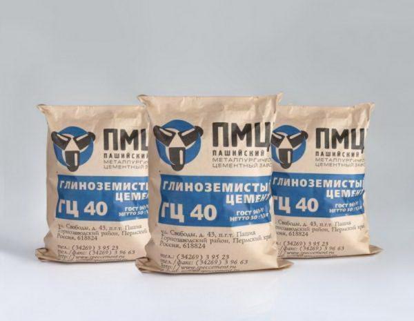 Глиноземистый цемент от ПМЦ