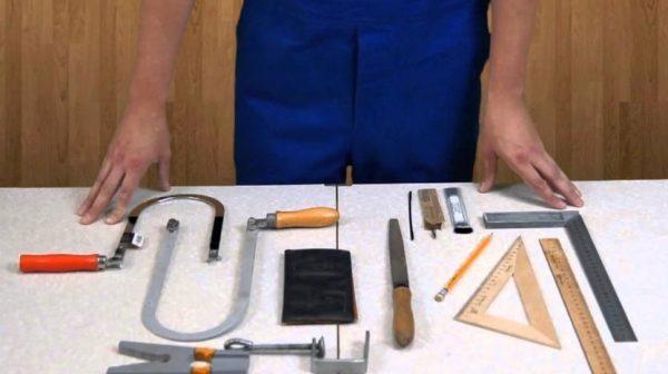 Инструменты для изготовления шпателя