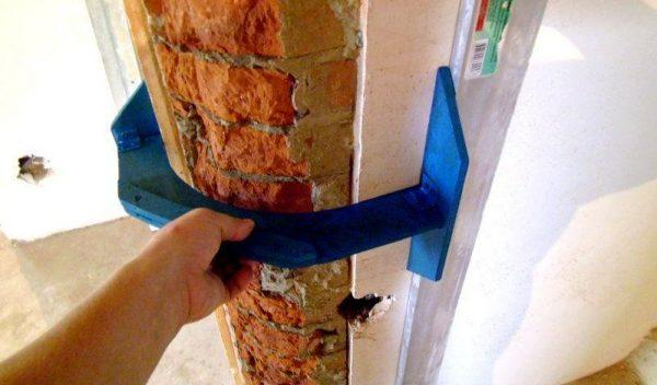 Штукатурка углов стен