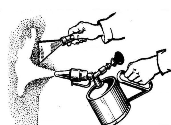 Снятие масляной краски паяльной лампой