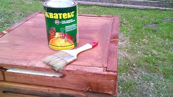 Краска масляная для покраски ульев