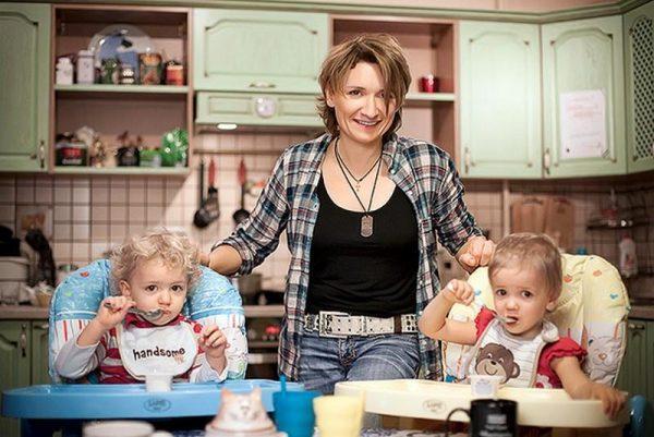 На кухне с детьми