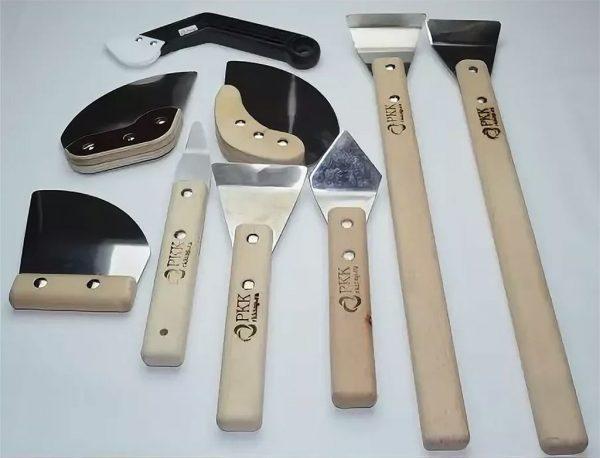 Набор лопаток для сборки натяжных потолков