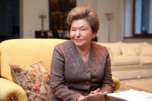 Вдова Ельцина Наина