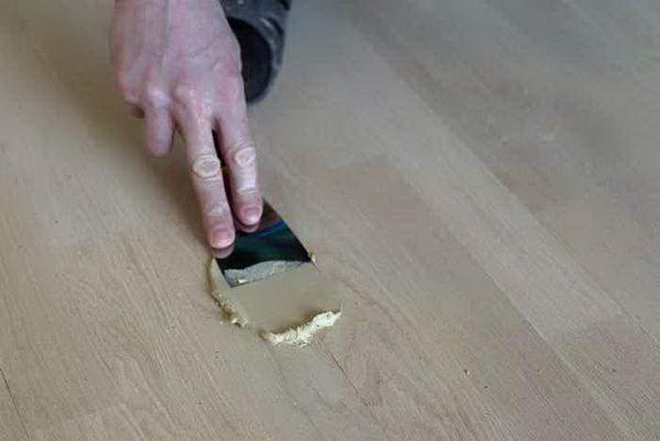 Подходит для ремонта ламината