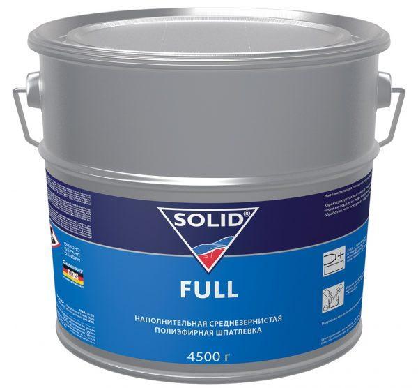 Полиэфирная наполнительная шпатлевка Solid