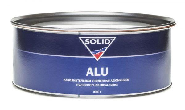 Полиэфирная шпатлевка усиленная алюминием