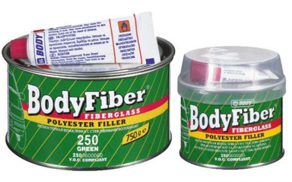 Шпатлевка Body 250 Fiber полиэфирная