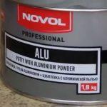 Шпатлевка с алюминиевой пылью