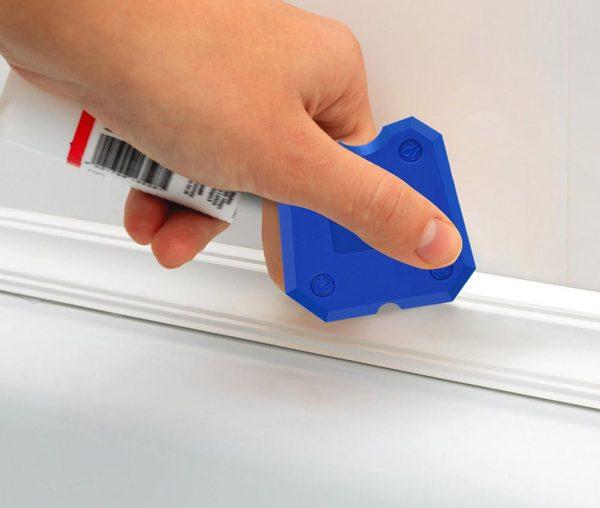 Скребок пластиковый для силикона
