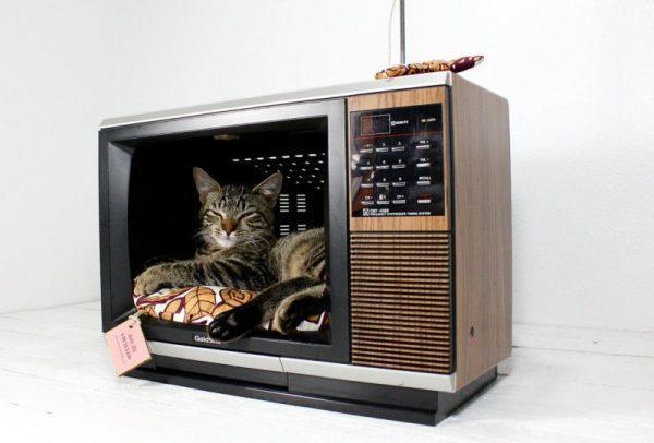 Создание домика для кошки
