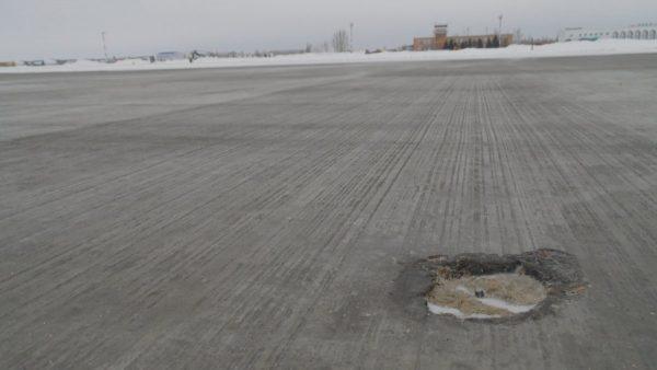 Технология штамповки бетона используется при строительстве ВПП