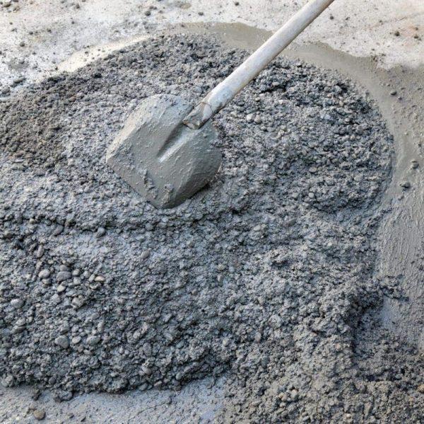 Приготовление тощего бетона