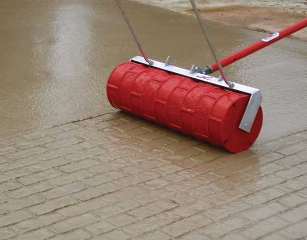 Валик штамп для бетона