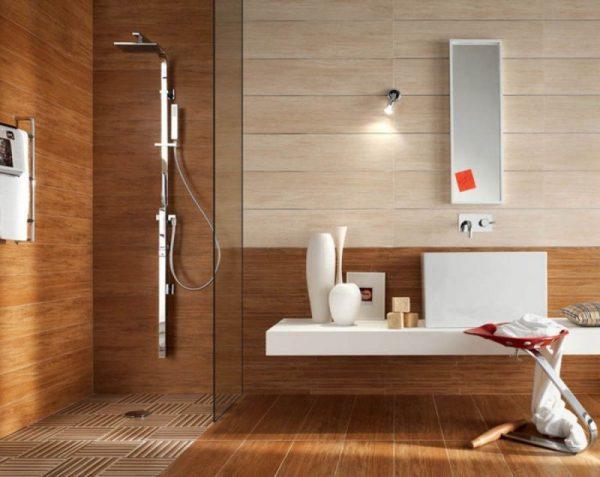 МДФ-панели в ванной комнате