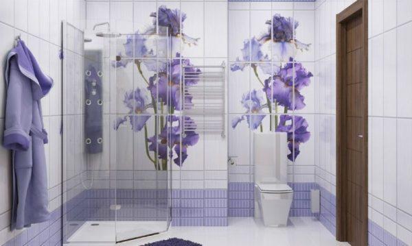 Стеновые панели в ванной комнате