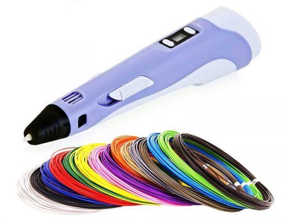 3D-ручка с набором пластика