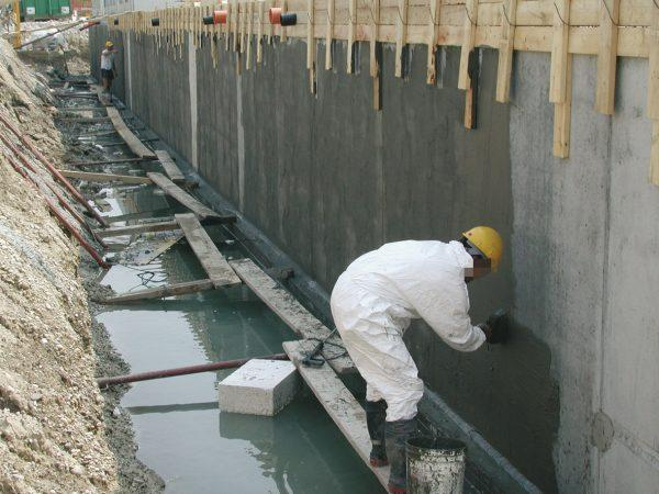 Бетонные работы в воде