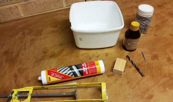 Инструменты и материалы для изготовления шланга