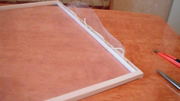 Изготовление москитной сетки