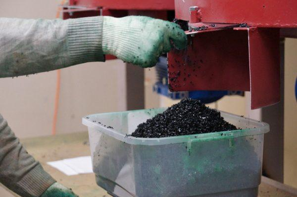 Изготовление резиновой крошки
