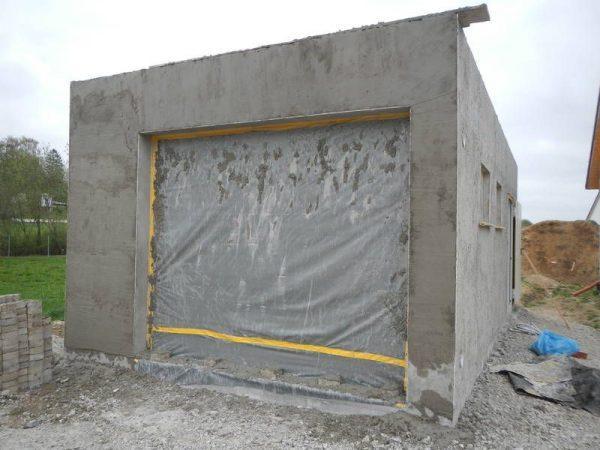 Сооружение из цемента