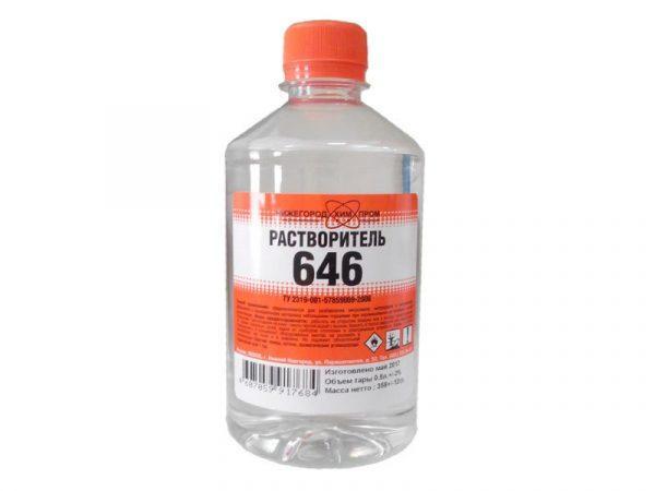 Растворитель 646 для оргстекла