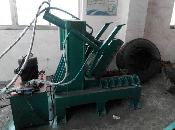 Роторная дробилка для шин