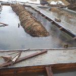 Заливка бетона в воде