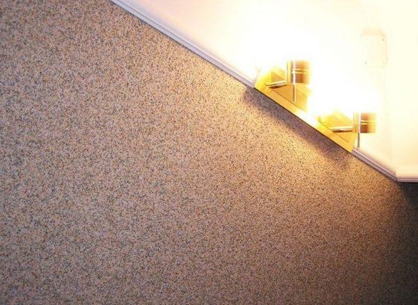 Антивандальная декоративная штукатурка для стен в квартире