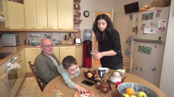 Кухня в доме Гордона
