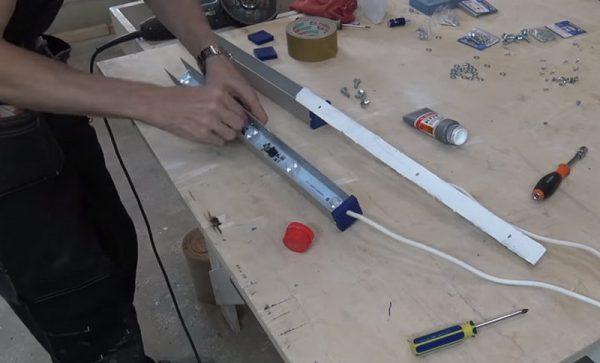 Изготовление проявочной лампы