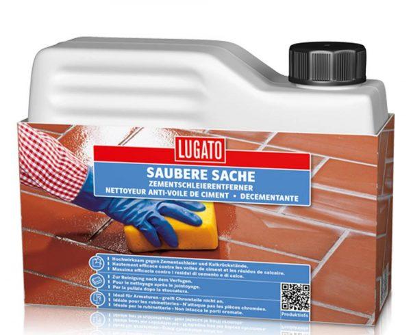 Кислотный очиститель плитки Lugato Saubere