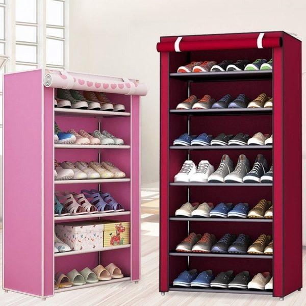 Шкаф для обуви с ячейками