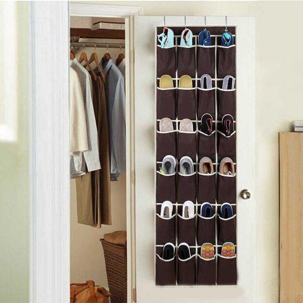 Органайзеры для хранения обуви висячие на двери