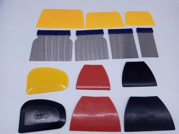 Набор шпателей для ремонта лакокрасочного покрытия автомобиля