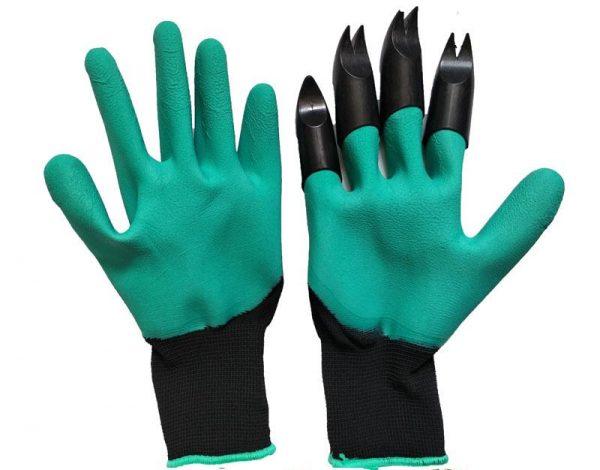 Непромокаемые перчатки с когтями