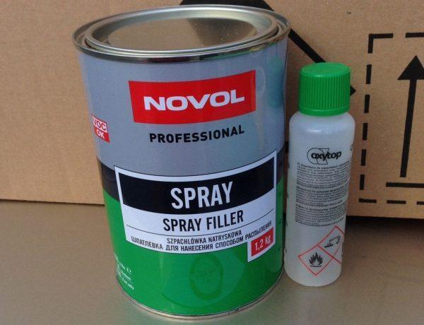 NOVOL Spray шпатлевка жидкая