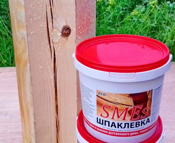 Шпаклевка по дереву SMES