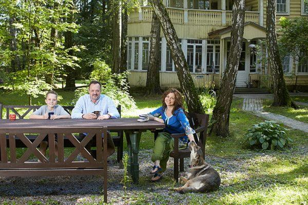 Загородный дом Виктора Гусева