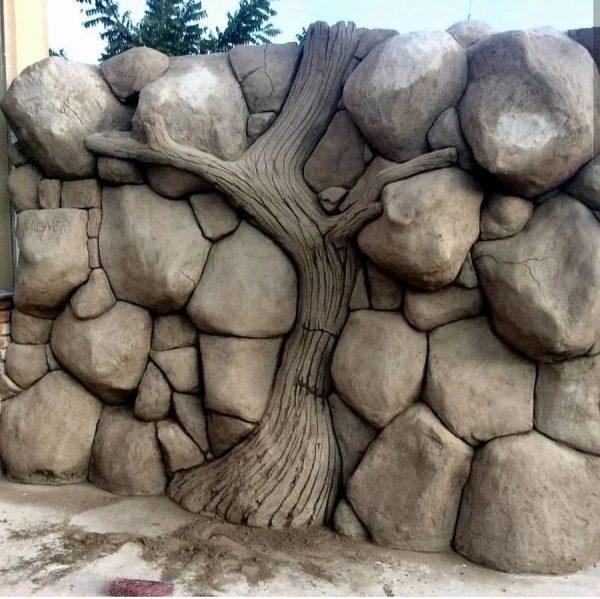 Арт бетон камни