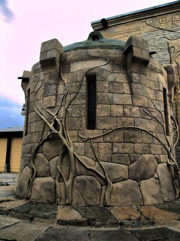 Архитектурный бетон под камень