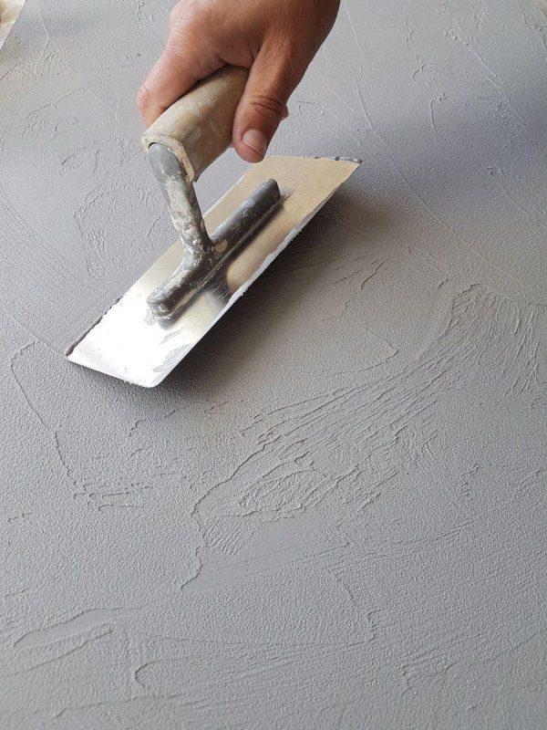 Технология нанесения арт-бетона