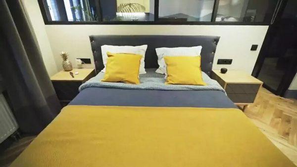 Цветовая гамма в спальной комнате